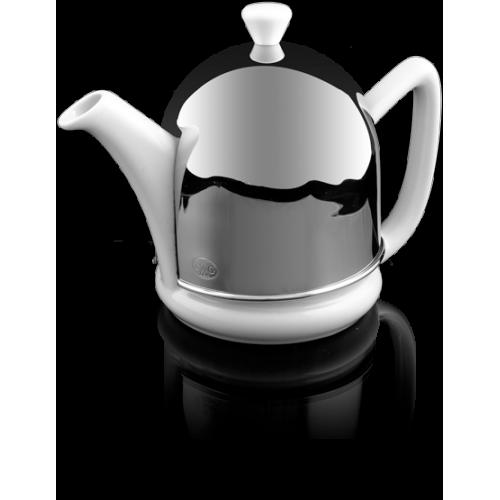 Dome Teapot in White 600 ml